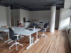 Vlijmscherp verhuist, kantoor Keizersgracht 16 B-C, Eindhoven